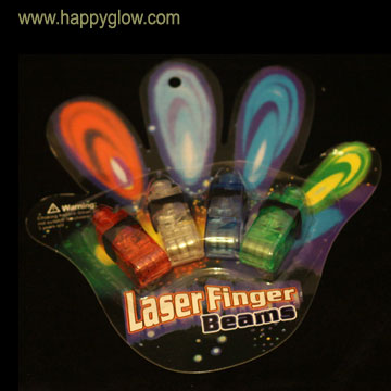 LED Flashing Finger Laser Beam