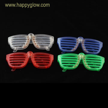 LED Slotted Sun Glasses